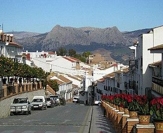 Colmenar, Andalusia - Image: Colmenar Ciudad