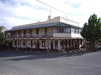 Bowning - Image: Commercial Hotel Bowning