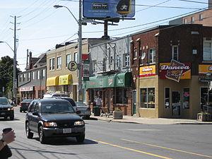 Concession Street (Hamilton, Ontario) - Street activity