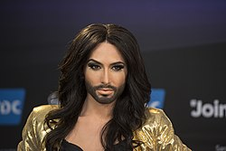 Conchita Wurst, ESC2014 Meet & Greet 16.jpg