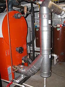 chauffage central fuel