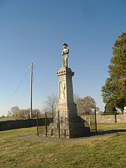 Confederate Monument in Perryville