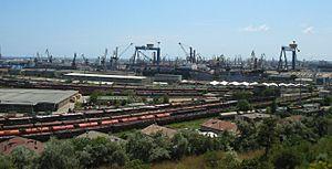 Port of Constanța - Constanţa shipyard