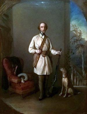 Nicolae Golescu - Portrait by Constantin Daniel Rosenthal