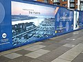 Construction hoarding on Admiral's Quay - geograph.org.uk - 1722896.jpg