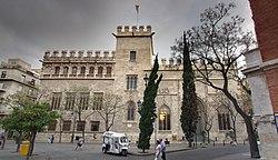 Consulado del Mar y Lonja de la Seda en Valencia.jpg