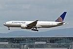 Continental Airlines Boeing 777-224-ER N27015 (26855463320).jpg