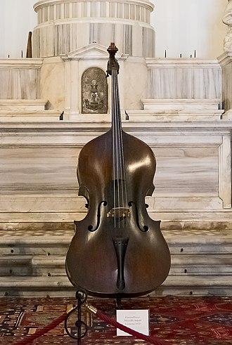 Nicola Amati - Double bass