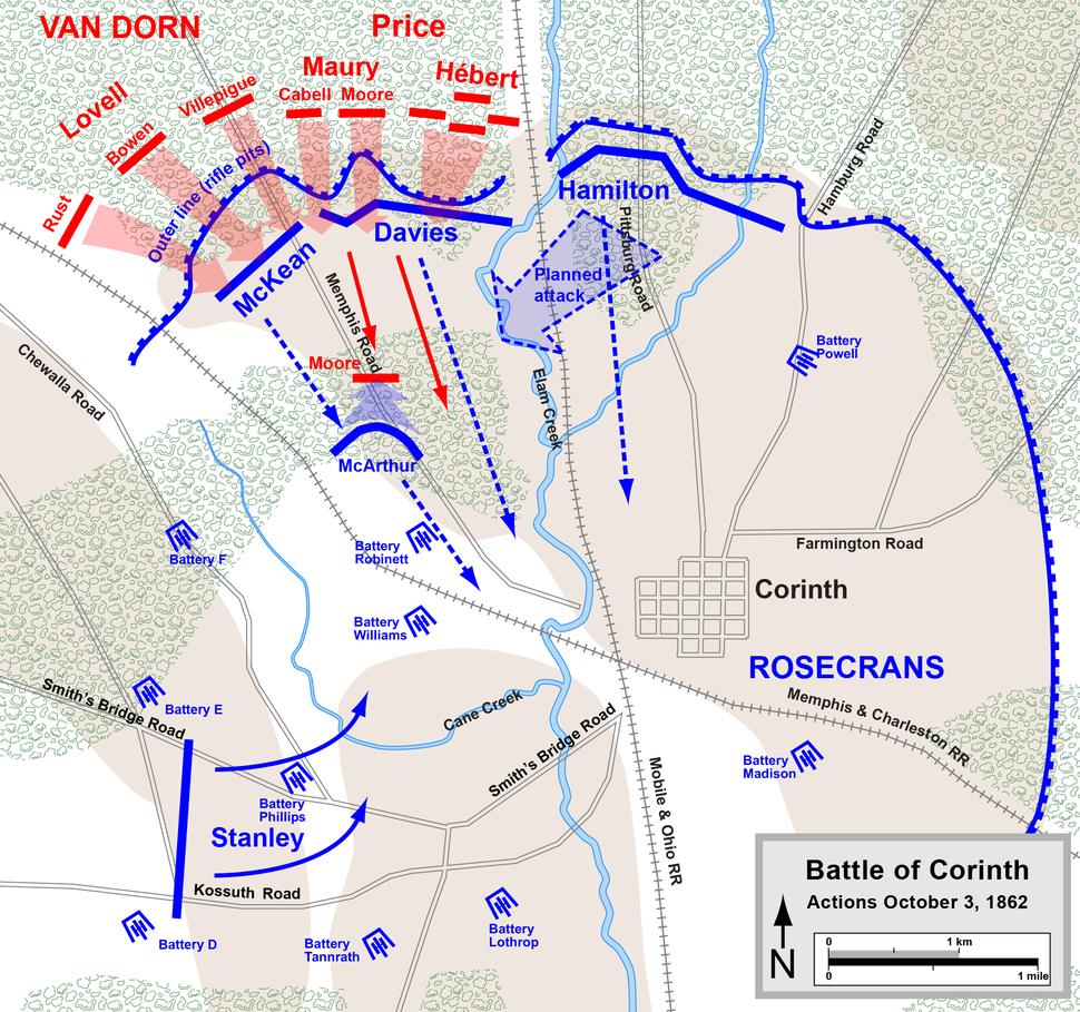 Corinth October 3 1862