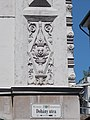 Cornerhouse. Monument ID 11526. Klauzal St corner. Detail. - Budapest District VII. Dohány St 46.JPG