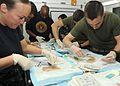 Corpsmen learn suture techniques 120227-N-ZP663-058.jpg