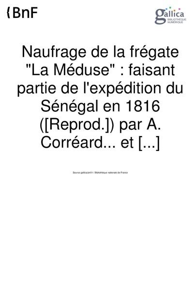 File:Corréard, Savigny - Naufrage de la frégate La Méduse.pdf