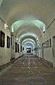 Corredor en el museo histórico del Convento de San Carlos Borromeo.JPG