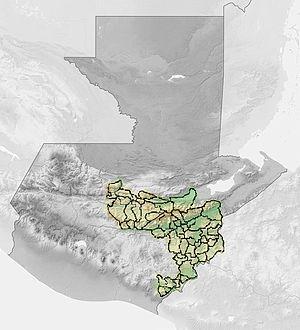 Camotán - Image: Corredorseco guatemala