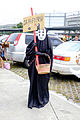 Cosplayer of No-Face, Spirited Away at 2015FFTC 20150801.jpg