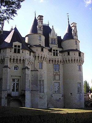 Château d'Ussé - View of the Château's towers
