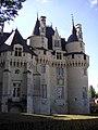 Coté-château fort d'Ussé.JPG