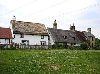 Upper Gravenhurst village in United Kingdom