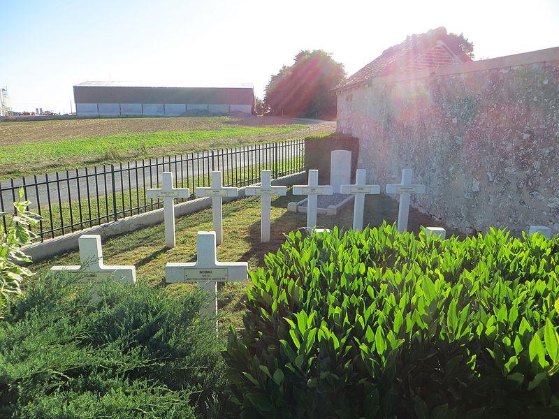 Quelques tombes individuelles de la nécropole nationale