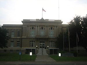 Allen Parish, Louisiana - Image: Courthouse of Allen Parish, Louisiana