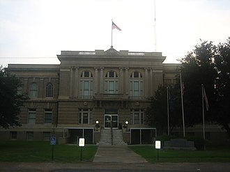 National Register of Historic Places listings in Allen Parish, Louisiana - Image: Courthouse of Allen Parish, Louisiana