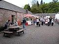 Courtyard, Drumlanrig Castle - geograph.org.uk - 1328161.jpg