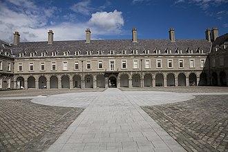 Irish Museum of Modern Art - Courtyard of the IMMA