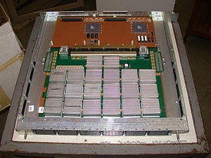 Vector processor - Cray J90 processor module with four scalar/vector processors
