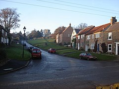 Crayke - Church Hill and the church - geograph.org.uk - 1168566.jpg