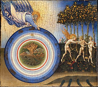 Giovanni di Paolo - 1445: The Creation and the Expulsion from the Paradise