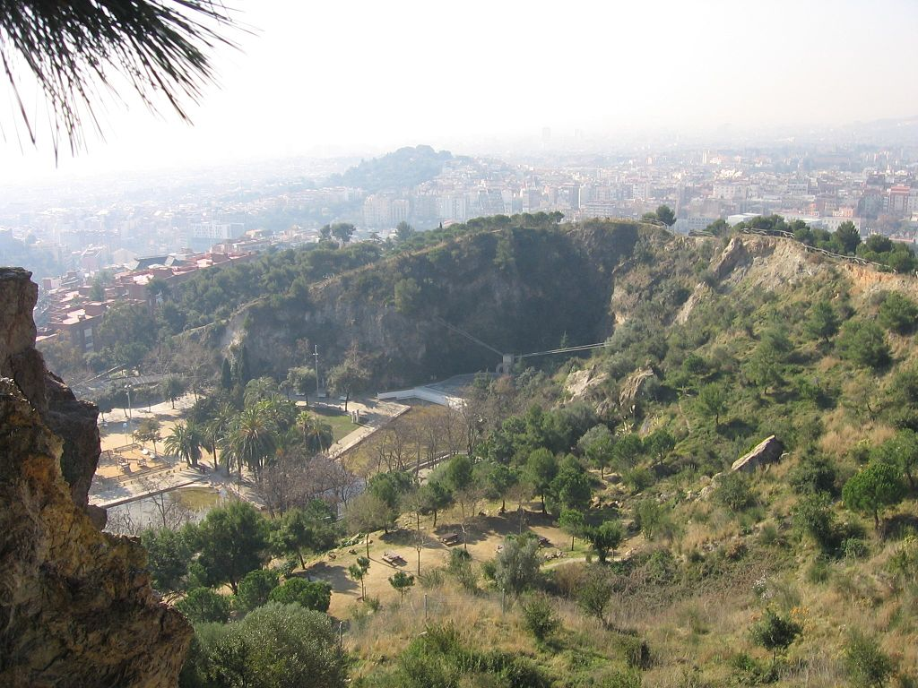 Parc de la Creueta del Coll, con zona de Picnic (Barcelona)