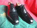 Crockett & Jones men's dress shoes, type Dalton, black calf leather 01.JPG