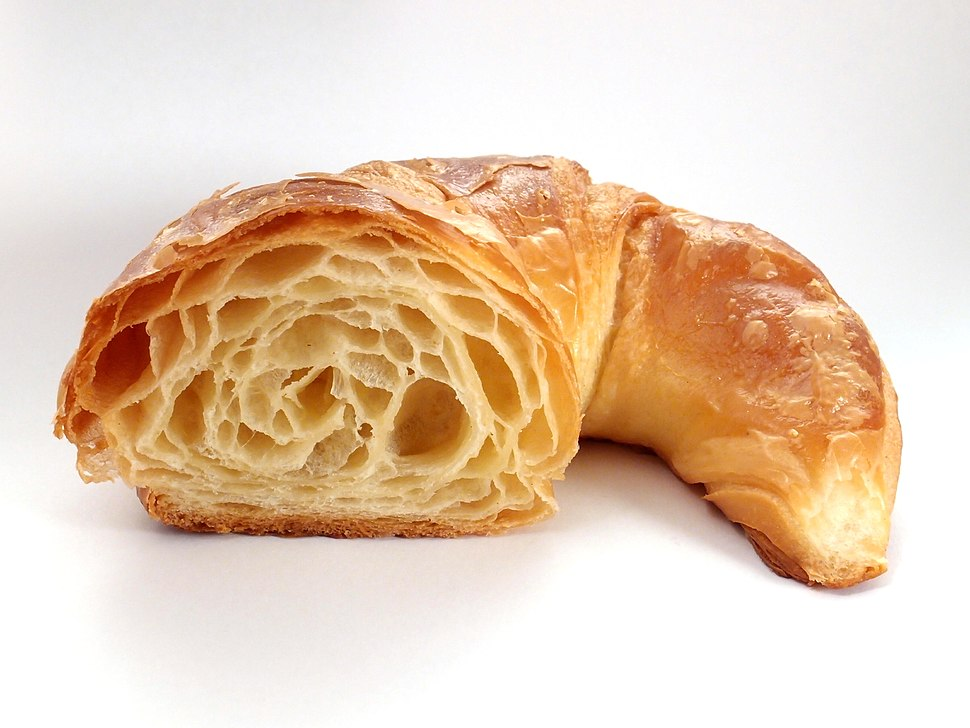 Croissant, cross section