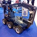 Cuerpo Nacional de Policía, Robot AUNAV, TEDAX, Homsec 2015, Madrid, España.jpg