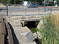 Culvert in downtown Pleasanton, July 2018.JPG