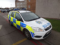 Cumbria Constabulary Ford Focus
