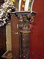 Détail du chapiteau de gauche - église de Montfort-en-Chalosse.JPG