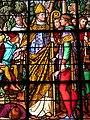 Détail vitrail sud chœur église Saint-Ouen du Tronquay.JPG