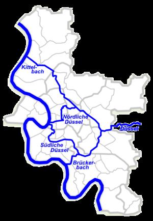 Düssel - Image: Düsseldelta