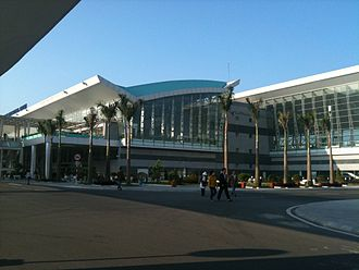 Da Nang International Airport - Image: DAD new terminal 2012 01