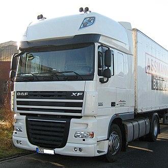 Leyland Trucks - DAF XF built by Leyland Trucks