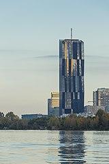 DC-TOWER 1 from Danube River to Northnorthwest - Vienna-4551.jpg