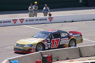 NASCAR Pinty's Series - D.J. Kennington's car
