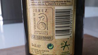 Sherry vinegar - DO Vinagre de Jerez