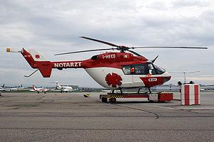 MBB/Kawasaki BK 117 - An Italian BK 117 air ambulance