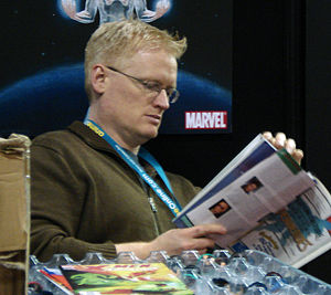 Dan Buckley - Buckley at the 2007 New York Comic Con.