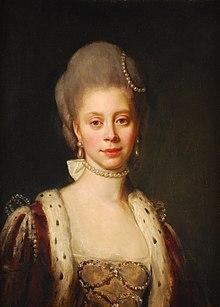 Königin Charlotte. Gemälde von Nathaniel Dance-Holland, 1768[3] (Quelle: Wikimedia)