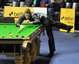 Daniel Wells (snooker player) - Daniel Wells at the 2013 German Masters.