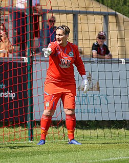 Danielle Hill English footballer