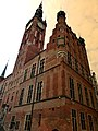 Danzig - Rechtsstädtisches Rathaus - Ratusz Głównego Miasta - panoramio.jpg